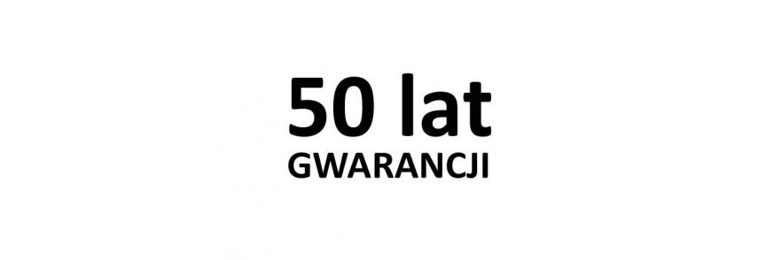 50 lat GWARANCJI