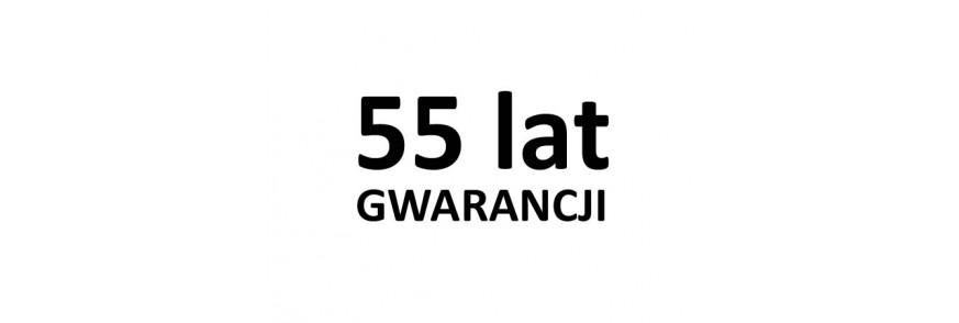 55 lat GWARANCJI