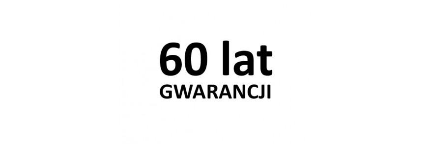60 lat GWARANCJI