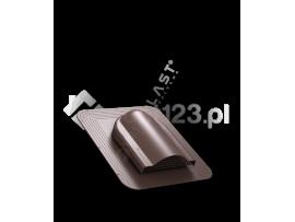 Wywietrznik POŁACIOWY SIMPLE pod pokrycia bitumiczne fi 150 Brązowy 8017 [WIRPLAST] P170802