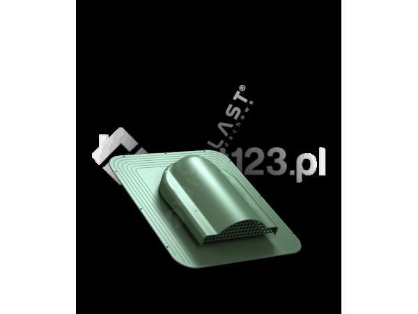 Wywietrznik POŁACIOWY SIMPLE pod pokrycia bitumiczne fi 150 Zielony 6020 [WIRPLAST] P170805