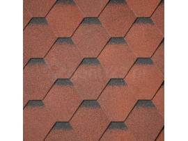 Gont Bitumiczny IKO ArmourShield PLUS APP - Tile Red ultra (20)