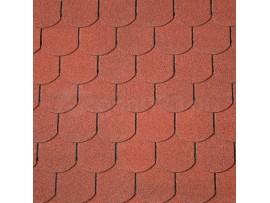 Gont Bitumiczny IKO SUPERGLASS BIBER Tile Red (10)