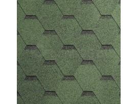 Gont Bitumiczny IKO Superglass Hex -  Amazon Green Ultra (23)
