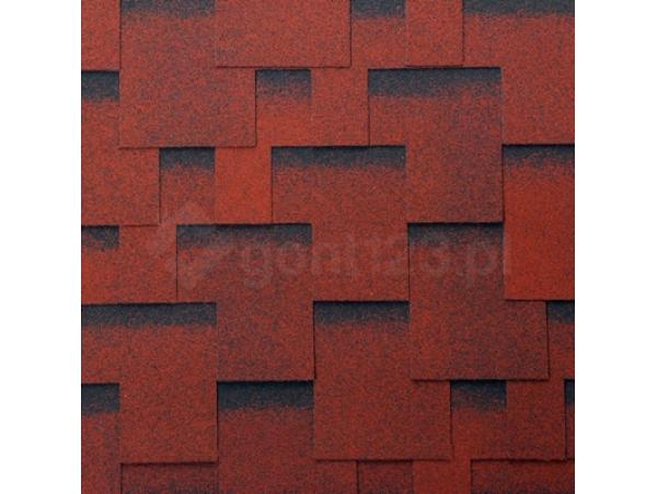 Gont Bitumiczny ACCORD PRAGA 1429 Czerwony [MIDA] Classic