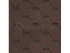 Gont Bitumiczny HEXAGONAL 6821 Brąz [MIDA] Standard