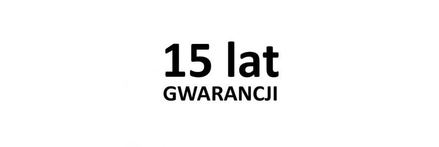 15 GWARANCJI