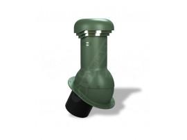 Kominek Wentylacyjny z odpływem kondensatu NORMAL PRO na pokrycie fi 150 NieIZOLOWANY Zielony